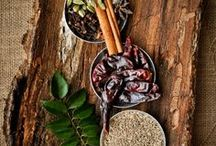 SPICES AND HERBS / Herbs and spices for cooking, beauty remedies and other natural uses.  http://salwapetersen.com