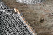 KNITTING / Knit, purl... Ideas, inpiration and patterns for knitting. http://salwapetersen.com/
