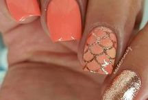 NAIL ART / Nails tutorials, easy to follow step by step nail art,  gel-polish, glitter, nail colors, marbleizing techniques, animals etc. For the all nailistas!