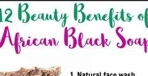 AFRICAN BLACK SOAP / African black soap, the wonderful beauty secret from West Africa