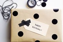Giftwrap It / Beautiful ways to wrap presents for special occasions and holidays