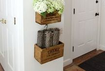 Re-Purpose It - Wooden Crates