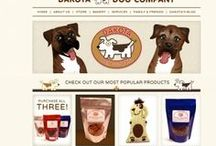 Dakota Dog Company / We specialize in all natural dog treats! From our Montana Munchies to our Chicken Jerky, everything is made fresh and with the most wholesome ingredients!