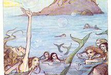 Mermaidy Lady / I'm mermaid obsessed! / by Kelly Charlton