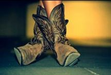 Now I love scuffed up cowboy boots ♥ / by Sammi McCoy