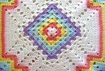 Crochet afghans / by Vicki Scales