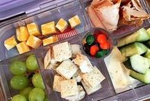 Lunch Box Fun. / Fun snacks for the little ones!