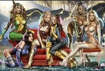 Girls of comic / Only comic female characters!
