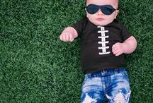 GAMEDAY Babiators by Jessie Decker / Calling all football fans....it's GAMEDAY! Check out these AWESOME new football-patterned Babiators, designed by country music star and mother Jessie James Decker. Inspired by her husband, New York Jets Wide Receiver Eric Decker, for her two adorable kids, these shades are perfect for fans ages 0-7 and sold exclusively on Babiators.com. Only a limited quantity available, so get in the game before they're sold out!