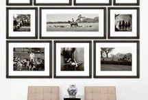 Trish Reda Wall / photography display ideas