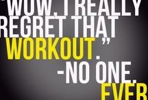 Workin on my Fitnessss / by Rachel Schmitz
