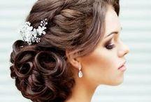 Hair & Makeup / Wedding hair & makeup, bridal hair, bridal makeup #weddinghair #weddingmakeup #weddinghairandmakeup