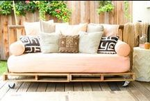 Oh, Outdoors! / Stunning outdoor spaces that are so comfy you'll wanna flick your bra off!