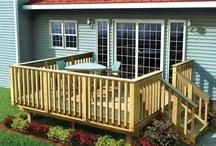 Love porches and decks / by Lorraine Guerriero