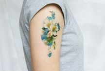 TATTOOS / All things ink including both big and small tattoo designs using various colours.