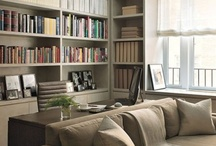 Home - Walls & Bookcases / by Sarah Bradford