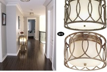 Flush Mount Light Fixtures / by The Spearmint Blogs