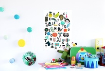 Hooks for Children's Bedrooms / by The Spearmint Blogs