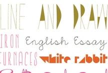 Blog tips & tricks, photoshop fonts, etc / by The Spearmint Blogs