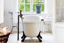 BATHROOM INSPIRATION / Bathroom Interior Inspiration including stunning baths and lovely showers.