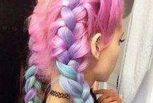 BRIGHT HAIR / Bright hair.