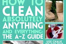 CLEANING TIPS / Cleaning tips.