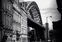 NEWCASTLE / The Toon. Geordie Land. Newcastle Upon Tyne.