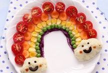 Plate Pictures / Pretty pictures made from healthy food
