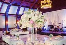 Glamorous Coronado Beach / Inside the historic Hotel Del Coronado's Crown Room with the iconic crown chandelier, the bride's whimsical drama was pushed to the limits combining Southern charm with Coronado glamour.   #SanDiegoWedding #BeachWedding #Hoteldel #DestinationWedding #Glamour #Love #Coronado #BlissEvents
