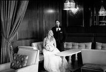 Art Deco Theme / The U.S. Grant Hotel is the essence of Romance. The venue boasts of history and class in the bustling downtown of San Diego. Our bride, Leah, was all about style in her art deco 1920's inspiration complete with black and gold colors with feathers and sparkle throughout every element.    #SanDiegoWedding #ArtDeco #City #Downtown #Classic #Romance #BlissEvents #CrystalBallroom #Destination Wedding #Chandelier