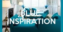 BLUE INSPIRATION / Blue is relax and calm, and I love it! Here my Inspiration in Blue...
