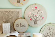 Crafty stuff / DIY ideas and crafts to make at home, for your home.