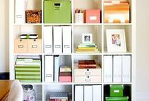 Organization / by Ashley Walkup {EmbracingBeauty.com}