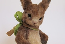 Critters I Love / Gorgeous artist-made soft-sculptures and stuffed creations.