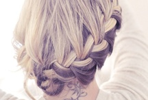 For the love of HAIR! / I wish I was talented enough to do these hairstyles!!! / by Allison Hart