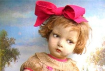 Dolls / Inspiring handmade art dolls and the occasional vintage doll from days-gone-by.