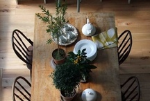 Dream Home-Dining Room / Table settings and furniture for a practical yet beautiful eating environment