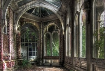 abandoned/ I'll take it!!! / I love the romantic look of an old derelict abandoned mansion but I find them more intriguing if they are filled with the stuff of past residents and the older the stuff the better!