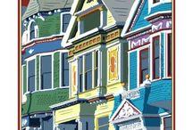 San Francisco Vintage Posters