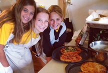 Culinary Cooking Class On The Farm / Camp Towanda offers Culinary Cooking Classes on our Farm. We have a special country kitchen for cooking classes that teach kitchen basics to gourmet. This is a very popular option and it is delish!