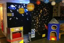 Dramatic Play Space / A Selection of Dramatic Play Spaces to try in an OSHC room