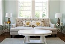 Dream Home - Living Room / Warm ideas for the most livable space in the home.