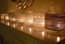 REPURPOSED GLASS / REPURPOSING GLASS JAR'S / by Toni