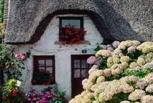 Beautiful Places / A sweet, little cottage is in my dreams for someday!
