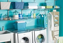Dream Home - Laundry  / An organized space for cleaning, ironing and storing out of season clothing.