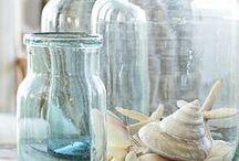 bottles glass jars