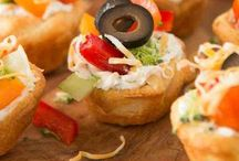 APPETIZERS / Appetizer recipes and hors d'oeuvre recipes for every occasion from a formal romantic dinner to a casual dinner party with friends.