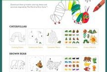 Toddler Activities / Creative ideas for bonding with your toddler. Crafts, DIY, and sensory ideas.
