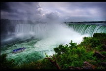 Canada - Ontario  / I have never traveled outside of the west coast of the United States and am in awe of the beauty that is Canada. With the bright colors of the leaves, the sparkle of the water and of course the stunning beauty of Niagara Falls, I am looking forward to experiencing it in person!