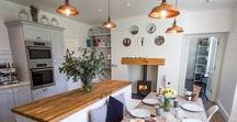 Kitchen Interiors / A selection of inspiring cottage kitchens from our portfolio of properties as well as a few of our kitchen crushes...
